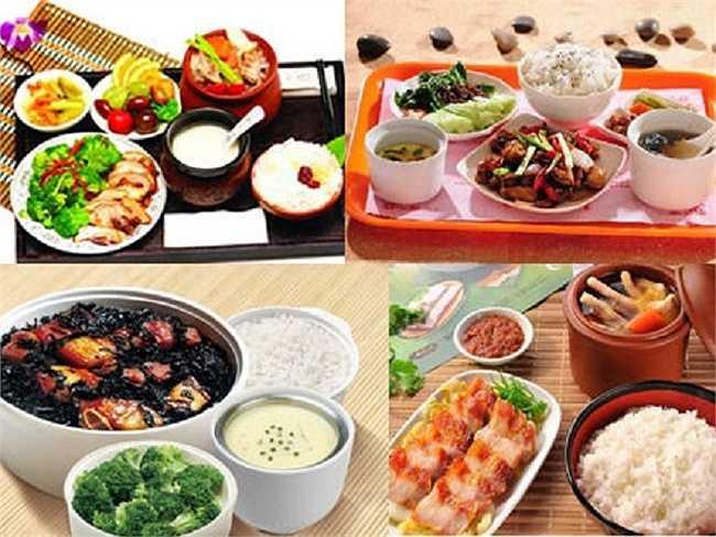Còn đây là 4 phần bữa trưa phổ biến của học sinh tại Trung Quốc.