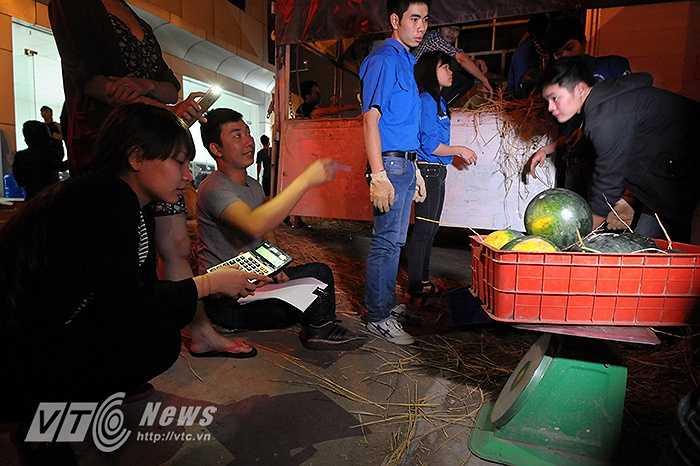 Hiện tại, hầu hết số dưa hấu của tỉnh Quảng Nam đã được nhiều đơn vị trong TP Hà Nội và nhiều tỉnh thành khác đặt mua.