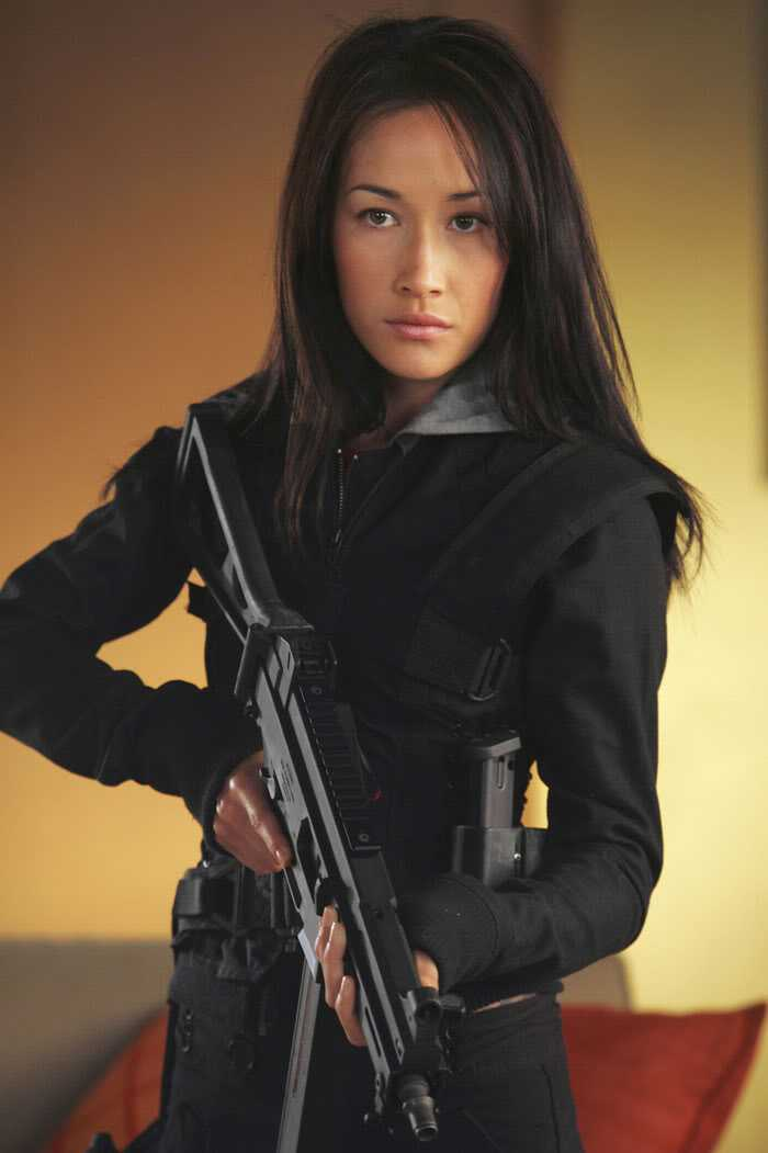 Maggie Q từ Mission Impossible 3.