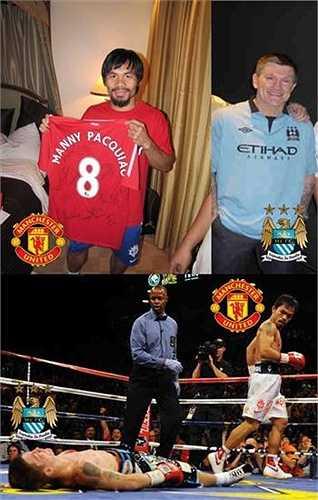 'Manny Pacquiao cũng là fan Man Utd nên dễ hiểu cách anh ấy knockout đối thủ là fan Man City'.