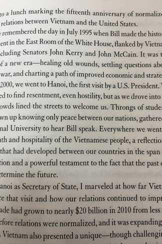 Những hồi ức về Việt Nam trong cuốn hồi ký