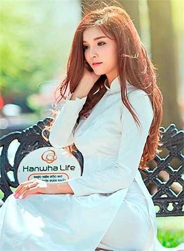 Trong tháng 4 này, Bùi Ngọc Phương Như đang tham gia cuộc thi Hoa khôi cấp trường và cô đã lọt vào top 20.