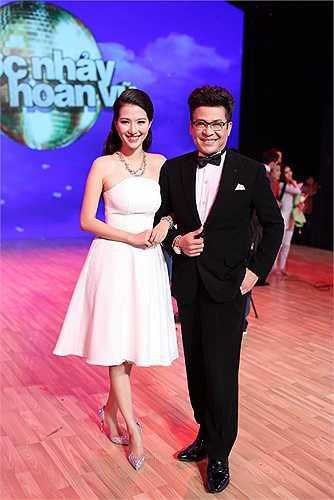 Thanh Bạch cùng giúp Mỹ Linh rất nhiều trên con đường theo đuổi nghiệp dẫn chương trình.