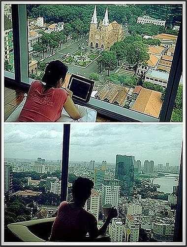Sau đó cô còn mua căn penthouse giá trị không kém với view tuyệt đẹp tại Quận 1 - TP. HCM.