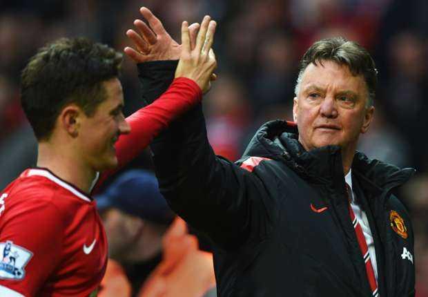 Đoàn quân dưới trướng Van Gaal đã có trận thắng 'tuyệt vời' ở trận derby Manchester