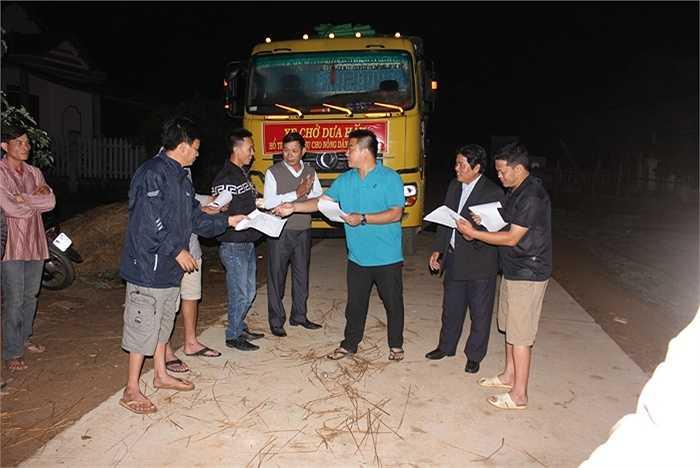 Sẵn sàng cho cuộc hành trình của dưa hấu Quảng Ngãi về đến Hà Nội