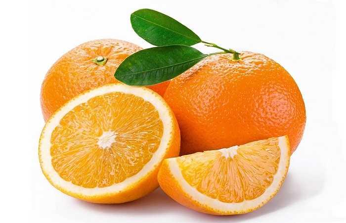 Quả cam: Sau khi đã rửa sạch, dùng đũa khoét một lỗ nhỏ chính giữa quả cam và bỏ vào đó chút muối, sau đó cho cam vào lò nướng trong vòng 15 phút. Ăn cam ngay khi còn nóng, vừa lấy ra khỏi lò. Ngoài ra có thể cắt nhỏ vỏ cam và bỏ vào ấm trà dùng hãm để uống.