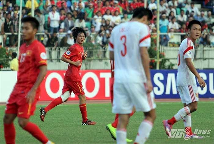 Nếu may mắn hơn, U19 Việt Nam đã kết thúc trận đấu với phần thắng chứ không phải một trận hòa 1-1 đáng tiếc. (Ảnh: Hà Thành)