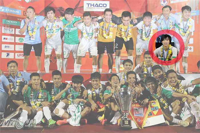 Ở giải đấu này, Tuấn Anh chơi xuất sắc giúp U19 HAGL vô địch. Cá nhân anh được bầu chọn là cầu thủ xuất sắc nhất giải. (Ảnh: Quang Minh)