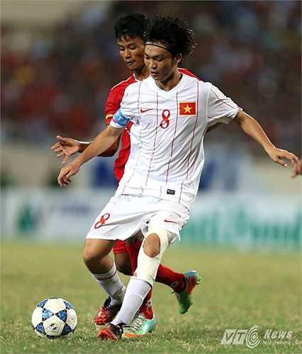 Trở về nước không lâu, Tuấn Anh cùng U19 Việt Nam dự giải U22 Đông Nam Á tại Brunei. Dù đã chơi rất xuất sắc nhưng U19 Việt Nam lại thua đáng tiếc U19 Myanmar ở trận chung kết. (Ảnh: Quang Minh)