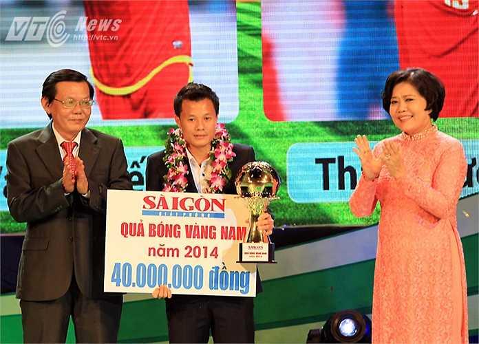 Năm 2014 là năm Phạm Thành Lương đã chơi đầy nỗ lực, cống hiến trong màu áo CLB Hà Nội T&T để giành ngôi Á quân V-League.