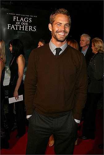 Nụ cười hiền lành, ấm áp của nam diễn viên quá cố trong buổi công chiếu Flags of Our Fathers lại Los Angeles vào năm 2006.