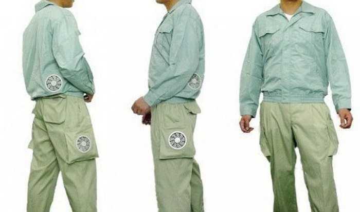 Không chỉ có áo chống nắng điều hòa, quần điều hòa cũng được nhiều cửa hàng bán với giá 'mềm' hơn một chút, dao động từ 600.000 - 800.000 đồng/chiếc.