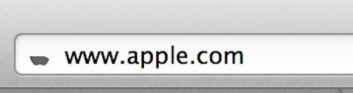 5. Trước đây, nếu bạn Bookmark trang web trên trình duyệt Safari bạn se thấy biểu tượng quả táo xuất hiện nhưng chỉ có một nửa của biểu tượng này được hiển thị vào ngày giỗ của Steve Jobs, thể hiện sự kính trọng dành cho ông