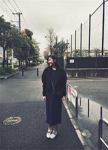 Sau khi bị trầm cảm, Văn Mai Hương đã dành thời gian đi du lịch Nhật Bản.