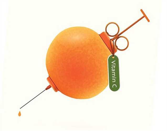 Cam: là loại quả yêu thích vào mùa hè, cam chứa năng lượng và vitamin C. Một quả cam chứa hơn 60 chất flavonoid và 170 dinh dưỡng thực vật khác nhau.