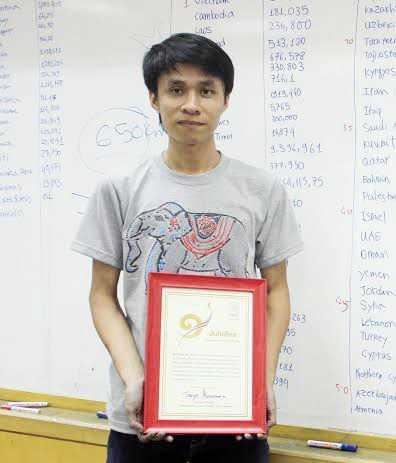 Dương Anh Vũ lập kỷ lục tại Thái Lan với trí nhớ siêu phàm