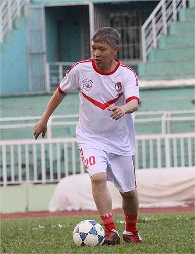 Cựu danh thủ của Quảng Ninh - Trần Đức Ái. (ảnh: Hoàng Tùng)