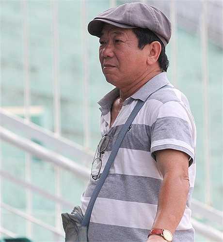 Cựu cầu thủ lẫy lừng một thời của Công Nghiệp Hà Nam Ninh - Đặng Gia Mẫn. (ảnh: Hoàng Tùng)