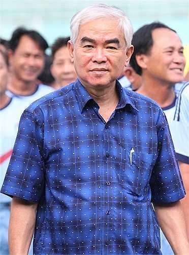 Chủ tịch VFF - Lê Hùng Dũng nhấn mạnh, Festival Hồng Hà - Trường Sơn - Cửu Long sẽ được tổ chức thường niên, nhằm mục đích gìn giữ hình ảnh nền bóng đá Việt Nam. (ảnh: Hoàng Tùng)