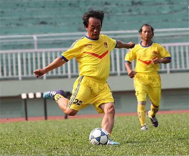 Cựu cầu thủ Trần Ngọc Hùng. (ảnh: Hoàng Tùng)