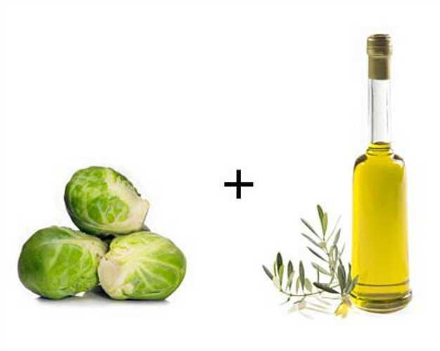 Bắp cải dại + dầu oliu: Bắp cái chứa nhiều dưỡng chất quan trọng như vitamin K, tốt cho xương và giúp tan máu đông. Nhưng vitamin K chỉ tan trong chất béo vì vậy khi kết hợp với dầu oliu sẽ mang lại hiệu quả tốt nhất.