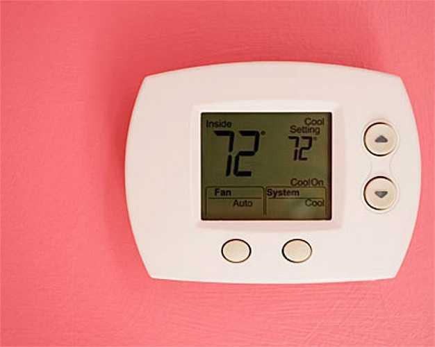 Bật điều hòa ở nhiệt độ quá cao.