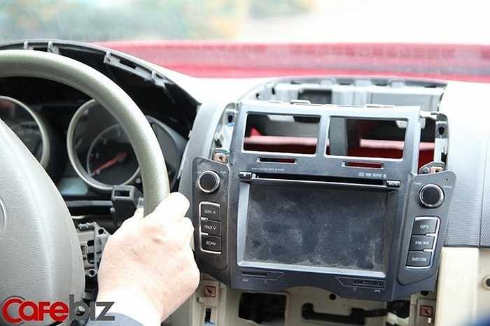 Vỏ xe được thiết kế theo tiêu chuẩn châu âu, và rất cứng. Trong khi các hãng khác sơn 4 lớp, chiếc xe VG 150 được sơn tới 5 lớp, và áp dụng công nghệ sơn robot tự động.