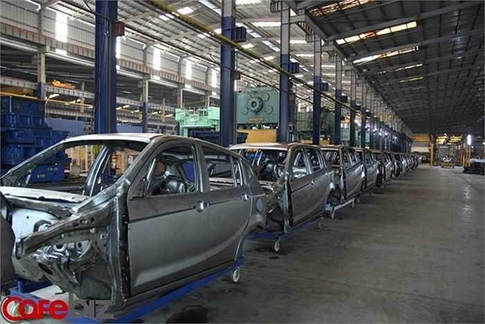 Số lao động của Vinaxuki từ 1.160 người nay chỉ còn 280 người.