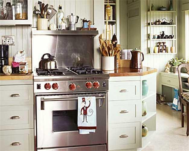 Những vật dụng trong bếp khiến bạn chướng mắt.