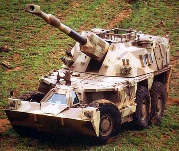 Xe pháo tự hành bọc thép Denel D6, do Denel SOC Ltd của Nam phi sản xuất với khả năng cơ động cao, có thể di chuyển trên những địa hình gồ ghề và được trang bị một khẩu pháo lớn trên đầu xe