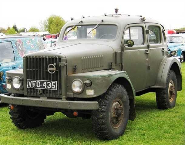 Được sản xuất từ năm 1953 đến 1958, Volvo Sugga TP-21 là phương tiện quân sự thế hệ mới do tập đoàn Volvo sản xuất