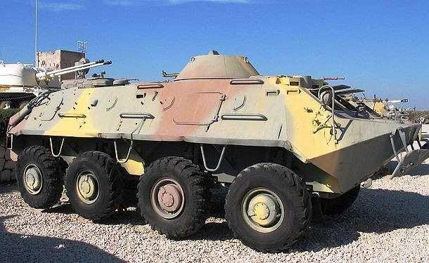 BTR-60 là loại  xe thiết giáp chở quân (APC) bánh lốp đầu tiên của Liên Xô có 8 bánh,  được phát triển từ những năm 1950 nhằm thay thế cho chiếc BTR-152. Với vận tốc 80km/h trên cạn và 10km/h dưới nước, BTR-60 có thể chở theo 17 binh lính