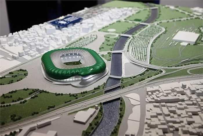 Timsah Arena sẽ là sân nhà mới của CLB Bursaspor, Thổ Nhĩ Kỳ bắt đầu từ cuối năm 2015 này