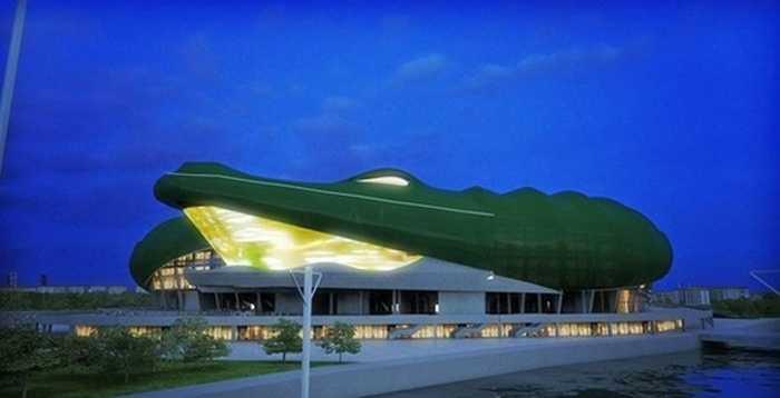 Khi đưa vào sử dụng, Timsah Arena sẽ có hình dạng thế này