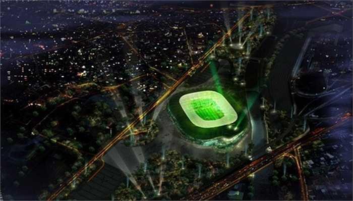 Không ít CĐV Bursaspor cảm thấy sợ trước công trình này của đội bóng