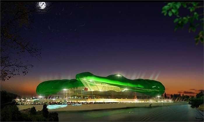 Timsah Arena với sức chứa hơn 45.000 chỗ ngồi được khởi công vào năm 2011