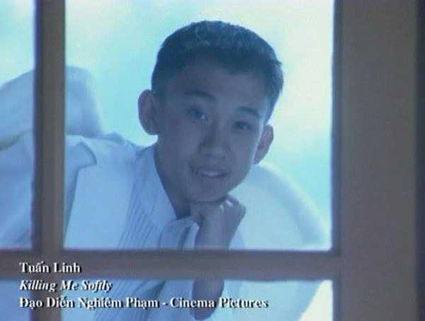 Dương Triệu Vũ năm 13 tuổi, vẫn còn xuất hiện trên băng đĩa với tên khai sinh là Tuấn Linh.