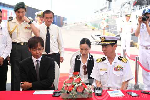 Chiến hạm, Nhật Bản, tàu huấn luyện, JS KIRISAME (DD 104), JS ASAYUKI (DD 132)