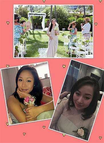 Đăng quang Hoa hậu thế giới người Việt vào năm 2007, nhưng Ngô Phương Lan ít tham gia vào các hoạt động showbiz, người đẹp chọn cho mình lối sống giản dị, kín tiếng. Hình ảnh mới nhất của Ngô Phương Lan khi làm phù dâu cho những người bạn thân thiết.