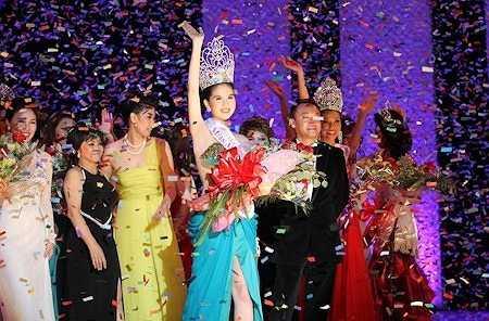 Ngọc Trinh đăng quang Hoa hậu Việt Nam toàn cầu đã khiến công chúng ngỡ ngàng và bức xúc