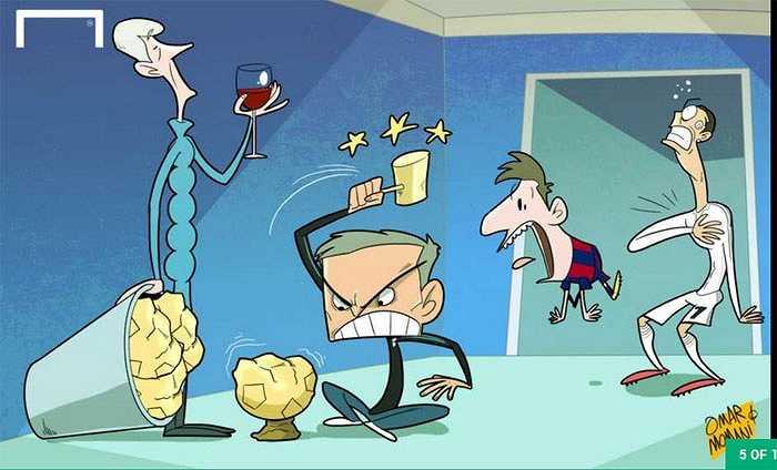 Giống Wenger, Mourinho không hề coi trọng danh hiệu Quả bóng vàng thế giới
