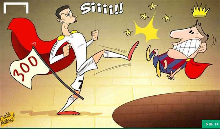 Ronaldo đại chiến Messi