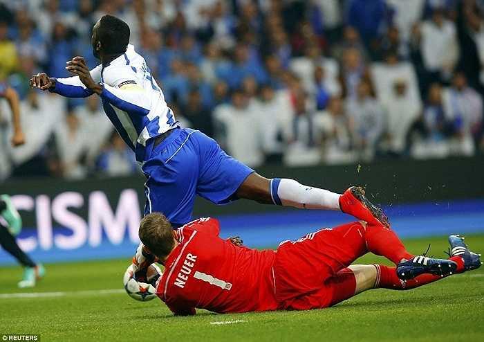 Tại trận đấu cuối cùng, Bayern Munich đã bị sốc trước sức công phá mãnh liệt của Porto