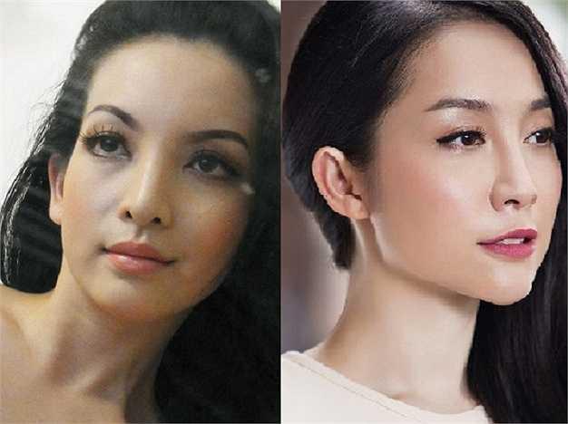 Mặc dù cách nhau về tuổi tác khá lớn nhưng không mấy ai có thể phủ nhận được vẻ đẹp mặn mà của 2 mỹ nhân này.