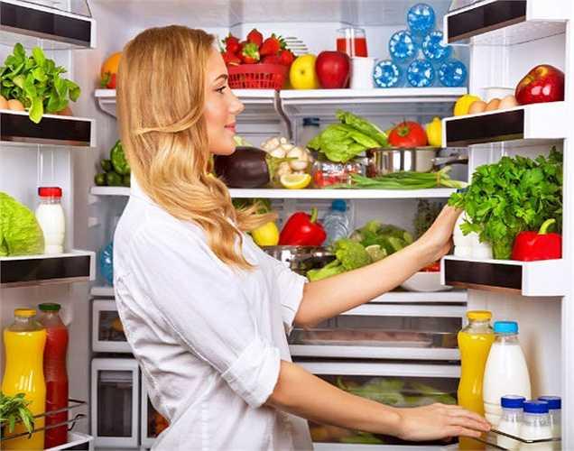 Duy trì không gian tủ lạnh: Đảm bảo tủ lạnh có đủ không gian trống để không khí có thể lưu thông tốt hơn.
