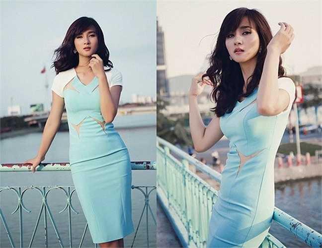 Kim Tuyến quan tâm hơn đến phong cách thời trang và sự thay đổi này thật sự hoàn hảo và cũng khiến cô được người hâm mộ chú ý hơn.