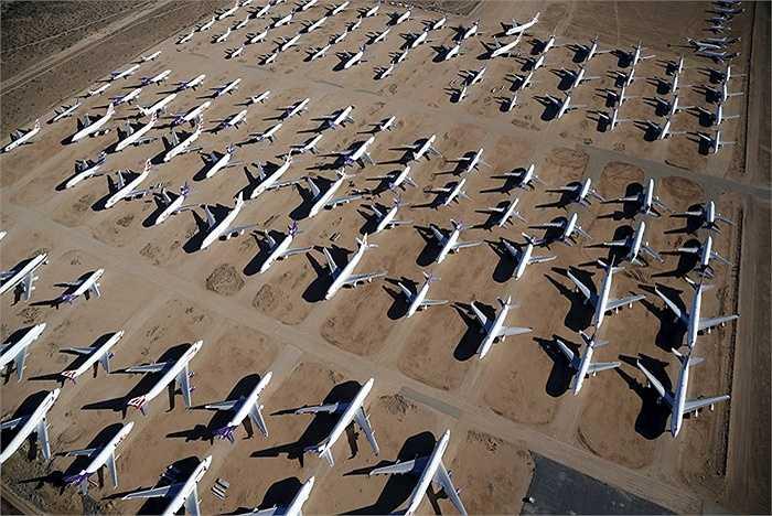 Những máy bay này sẽ được tháo rời để lấy phụ tùng tái chế