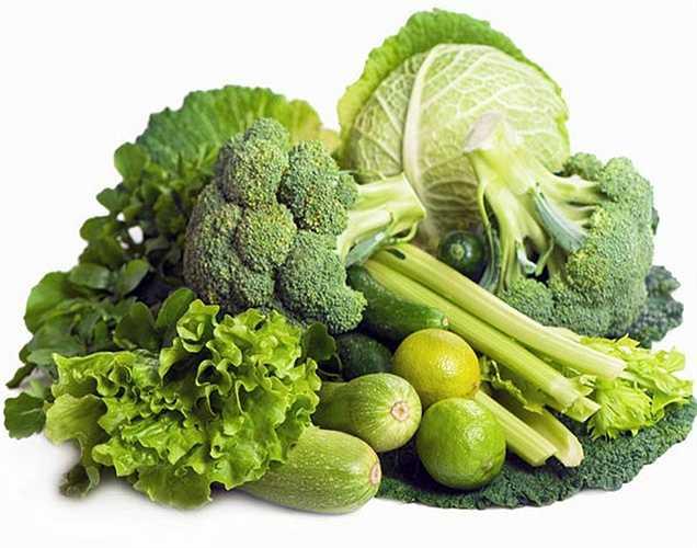 Lá rau xanh: có chứa sắt là khoáng chất quan trọng nhất cần thiết để điều chỉnh huyết áp thấp.