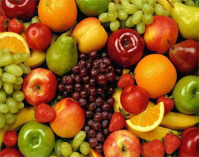 Trái cây: rất giàu protein, tốt cho người có bệnh về huyết áp.
